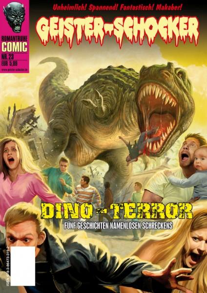 Geister-Schocker-Comic 23: Dino-Terror