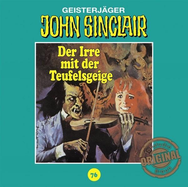 John Sinclair Tonstudio-Braun CD 76: Der Irre mit der Teufelsgeige (Teil 1/2)