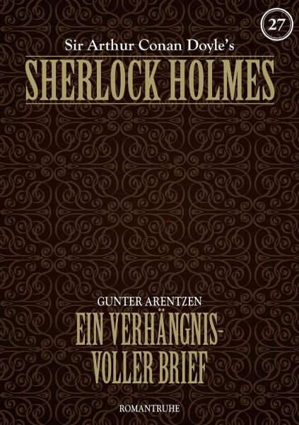 E-Book Sherlock Holmes 27: Ein verhängnisvoller Brief