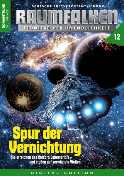 E-Book Raumfalken 12: Spur der Vernichtung