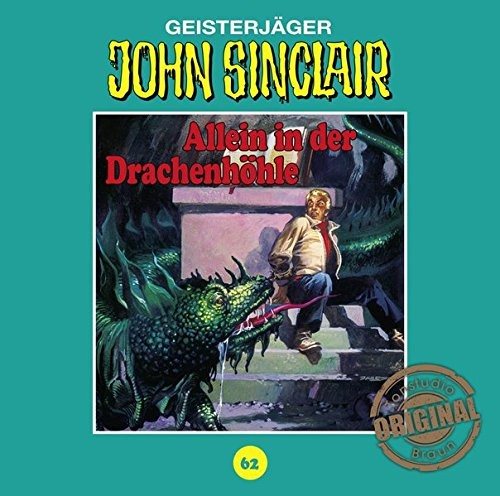 John Sinclair Tonstudio-Braun CD 62: Allein in der Drachenhöhle (Teil 2)