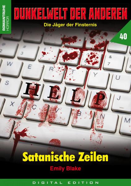 E-Book Dunkelwelt der Anderen 40: Satanische Zeilen