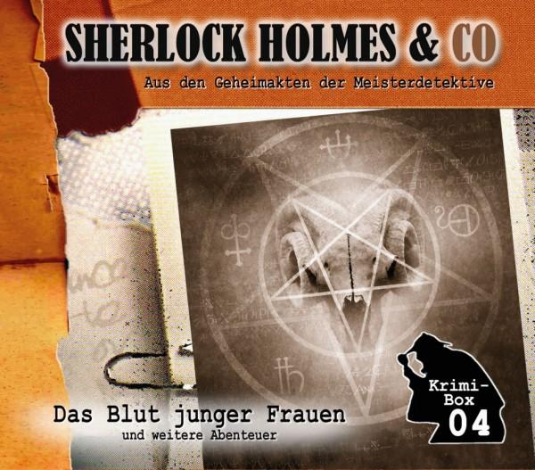 Sherlock Holmes und Co. Box 4: mit den Folgen 10-12