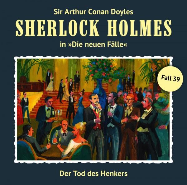 MP3-DOWNLOAD Sherlock Holmes-Neue Fälle 39: Der Tod des Henkers