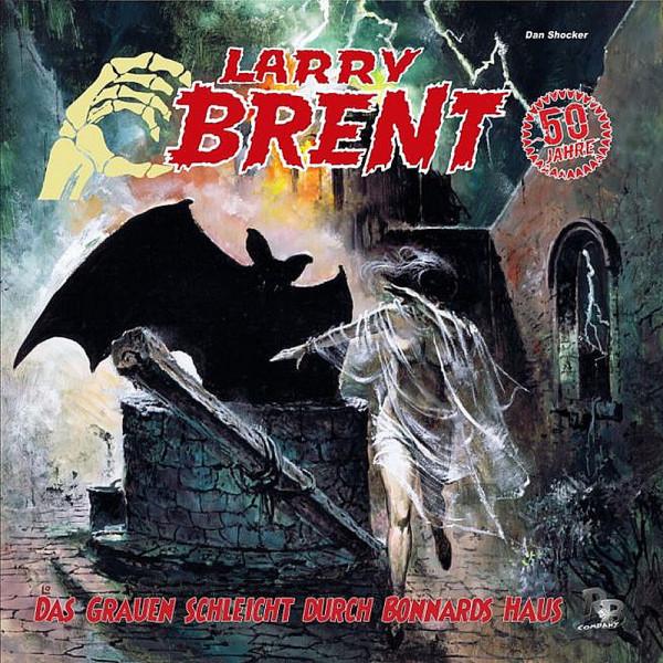 Larry Brent-LP: Das Grauen schleicht durch Bonnards Haus