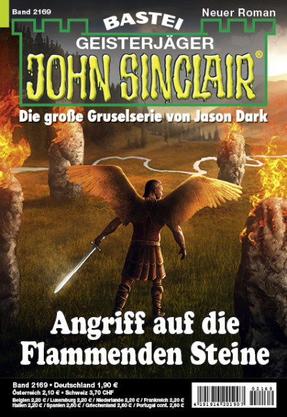 John Sinclair 2169: Angriff auf die Flammenden Steine