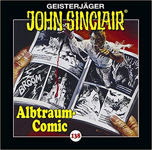 John Sinclair CD 138: Albtraum-Comic
