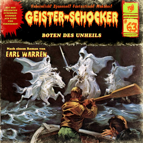 MP3-DOWNLOAD Geister-Schocker 63: Boten des Unheils
