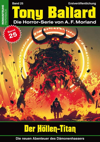 Tony Ballard-Neue Abenteuer 25: Der Höllen-Titan
