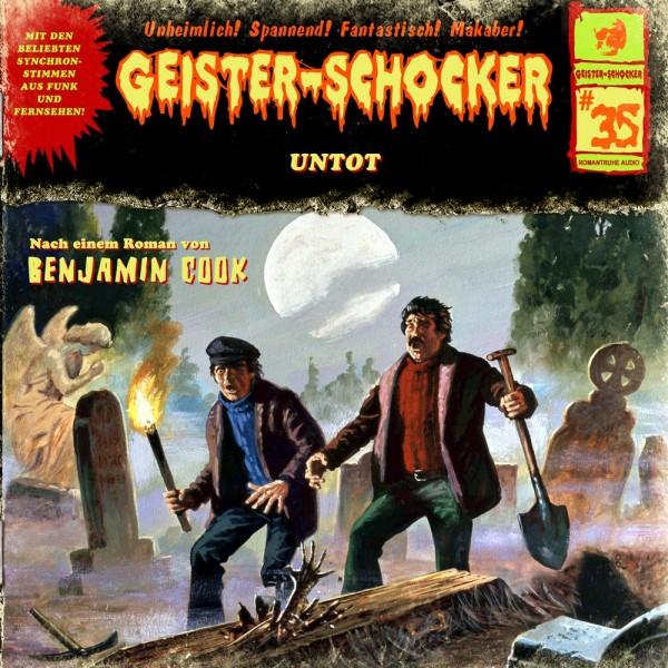 Geister-Schocker CD 35: Untot
