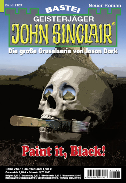 John Sinclair 2187: Paint it, Black