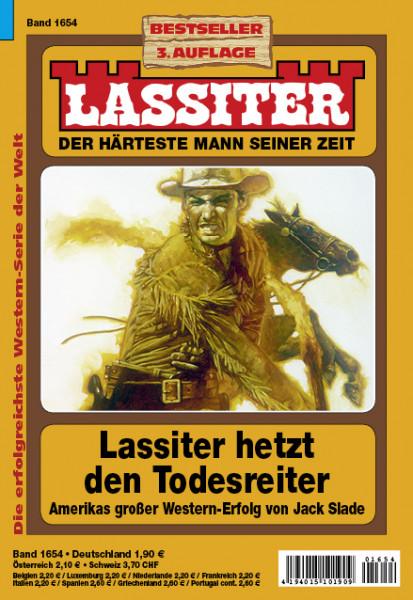 Lassiter 3. Auflage 1654: Lassiter hetzt den Todesreiter