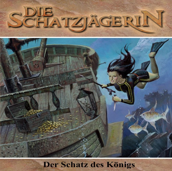 MP3-DOWNLOAD Die Schatzjägerin-Hörspiel 5: Der Schatz des Königs