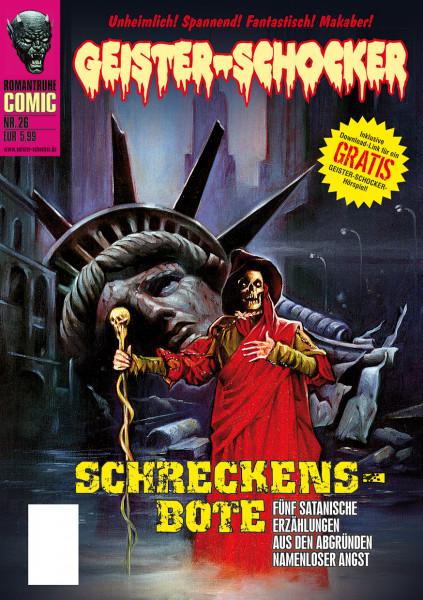 Geister-Schocker-Comic 26: Schreckens-Bote