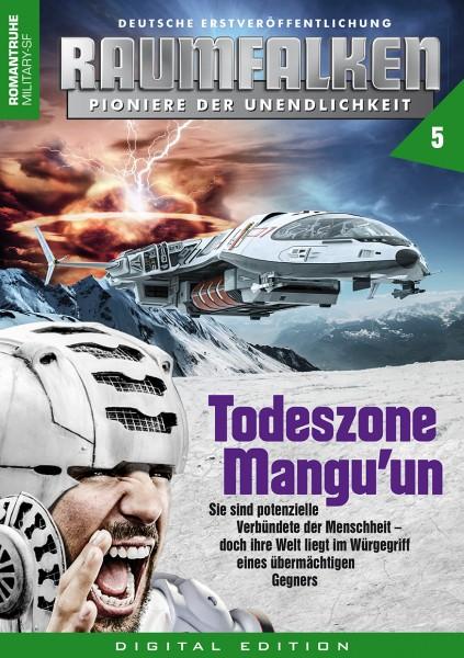 E-Book Raumfalken 05: Todeszone Mangu