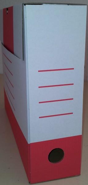Sammelboxen-Klassik 10 Stück in rot 8cm