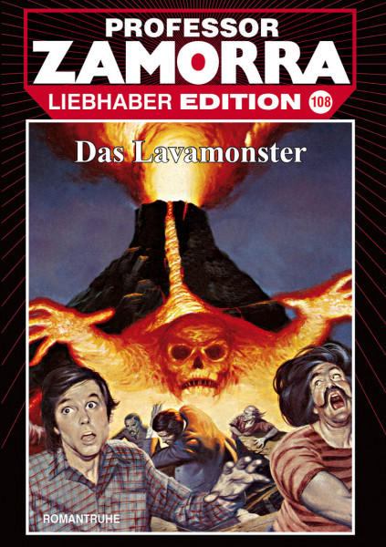 Zamorra Liebhaberedition 108: Das Lavamonster