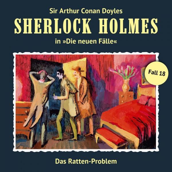 Sherlock Holmes-Neue Fälle CD 18: Das Ratten-Problem