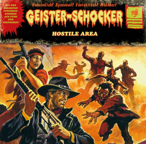 Geister-Schocker LP: Hostile Area