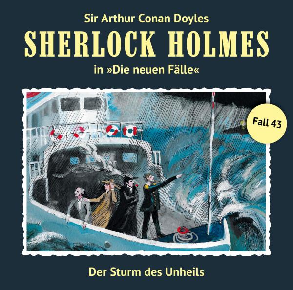 MP3-DOWNLOAD Sherlock Holmes-Neue Fälle 43: Der Sturm des Unheils