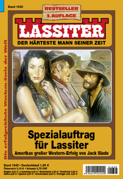 Lassiter 3. Auflage 1645: Spezialauftrag für Lassiter