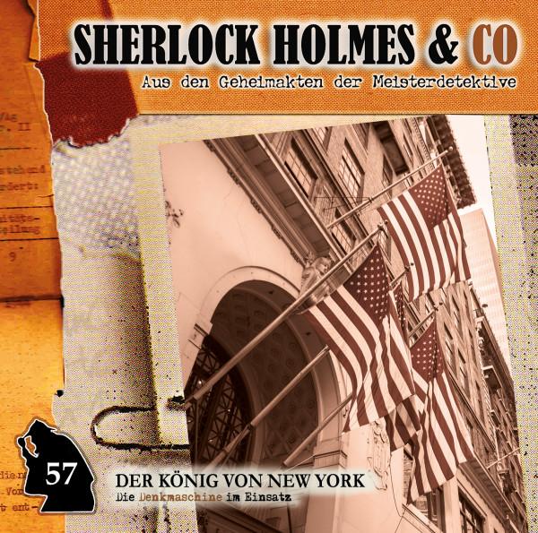 Sherlock Holmes und Co. CD 57: Der König von New York