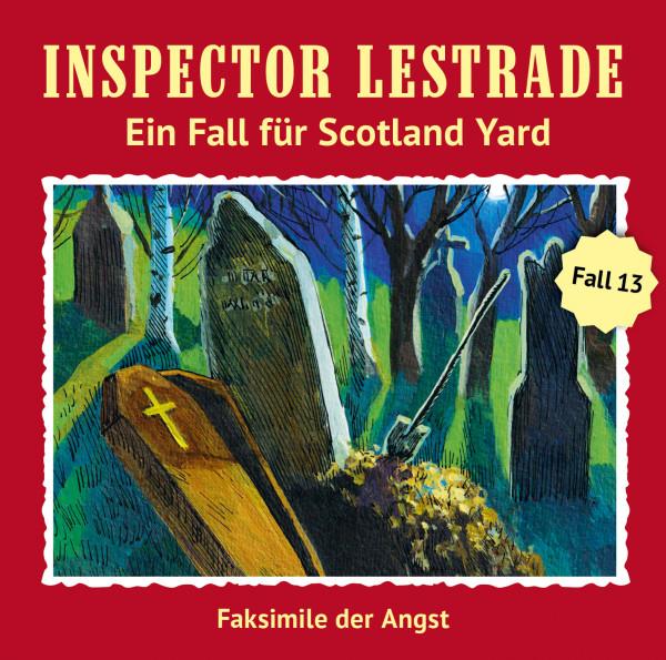 Inspector Lestrade CD 13: Faksimile der Angst