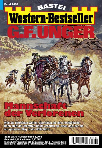 Western-Bestseller 2439: Mannschaft der Verlorenen