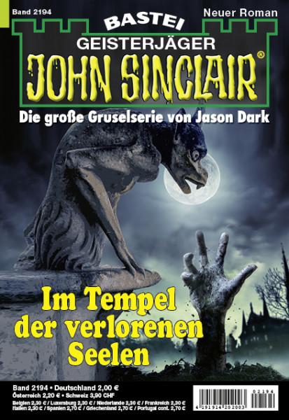 John Sinclair 2194: Im Tempel der verlorenen Seelen