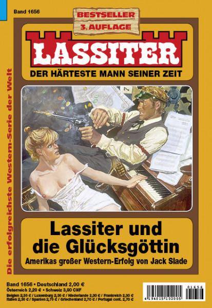 Lassiter 3. Auflage 1656: Lassiter und die Glücksgöttin