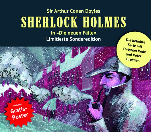 Sherlock Holmes-Neue Fälle Collectors Box 13: mit den Folgen 37-39