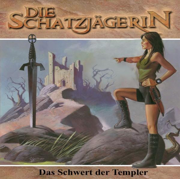 MP3-DOWNLOAD Die Schatzjägerin-Hörspiel 2: Das Schwert der Templer
