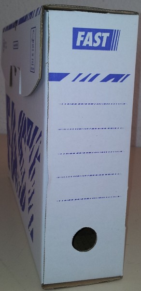 Sammelboxen-Klassik 50 Stück in weiss 8cm