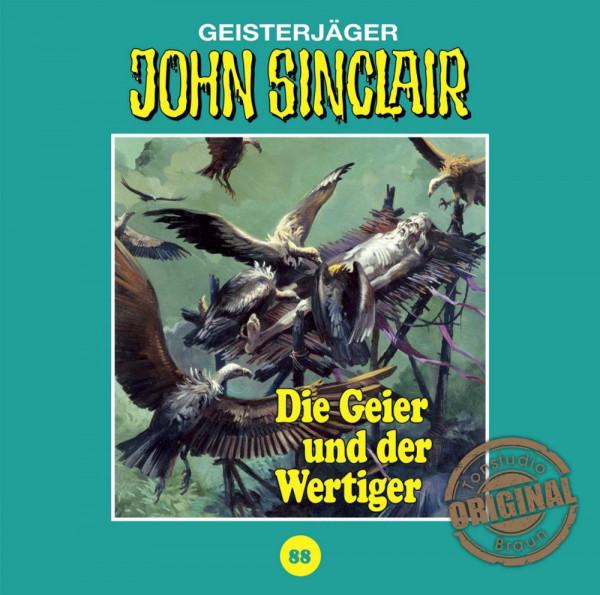 John Sinclair Tonstudio-Braun CD 88: Die Geier und der Wertiger
