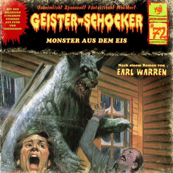 MP3-DOWNLOAD Geister-Schocker 72: Monster aus dem Eis