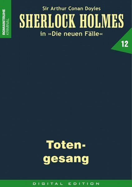 E-Book Sherlock Holmes 12: Totengesang