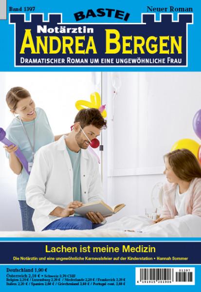 Dr. Andrea Bergen 1397: Lachen ist meine Medizin