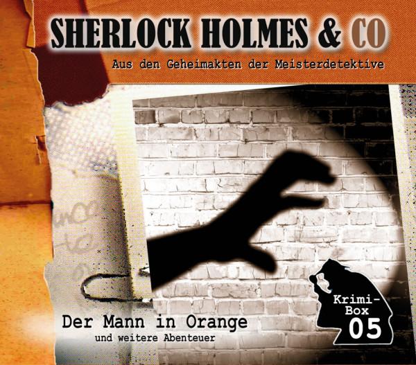 Sherlock Holmes und Co. Box 5: mit den Folgen 13-15