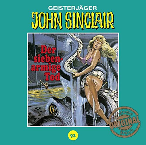 John Sinclair Tonstudio-Braun CD 92: Der Siebenarmige Tod