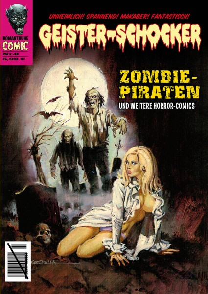Geister-Schocker-Comic 08: Zombie-Piraten