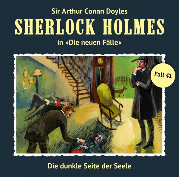 Sherlock Holmes-Neue Fälle CD 41: Die dunkle Seite der Seele
