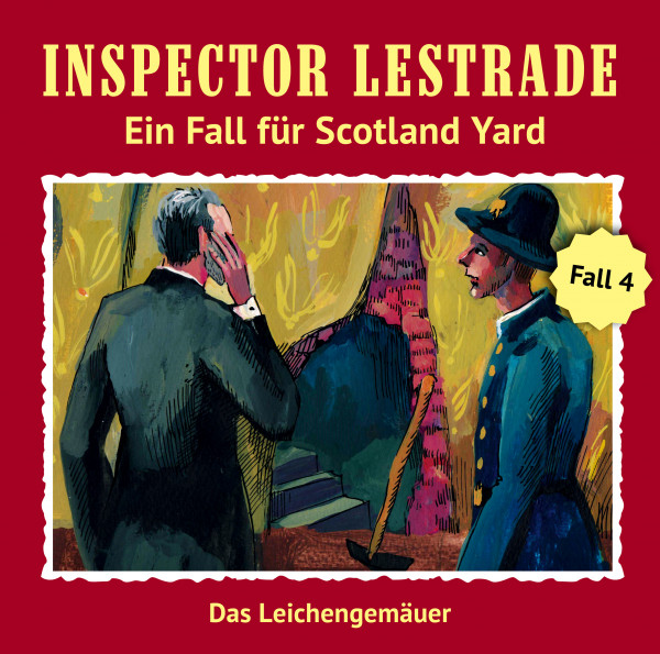 MP3-DOWNLOAD Inspector Lestrade 4: Das Leichengemäuer