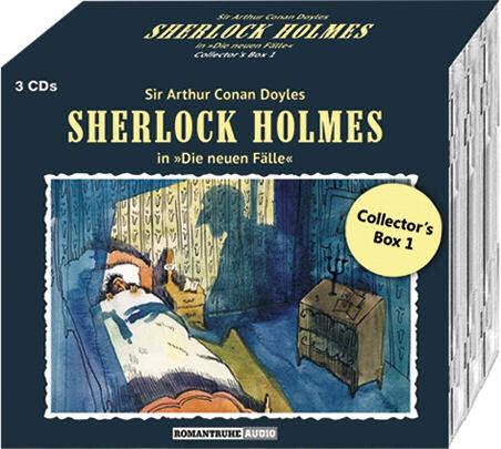 Sherlock Holmes-Neue Fälle Collectors Box 1: mit den Folgen 1-3