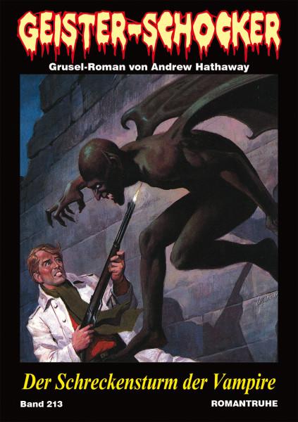 Geister-Schocker 213: Der Schreckensturm der Vampire