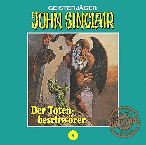 John Sinclair Tonstudio-Braun CD 08: Der Totenbeschwörer
