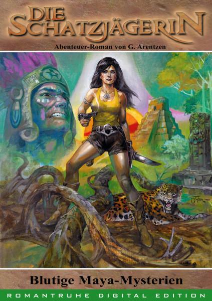 E-Book Die Schatzjägerin 41: Blutige Maya-Mysterien