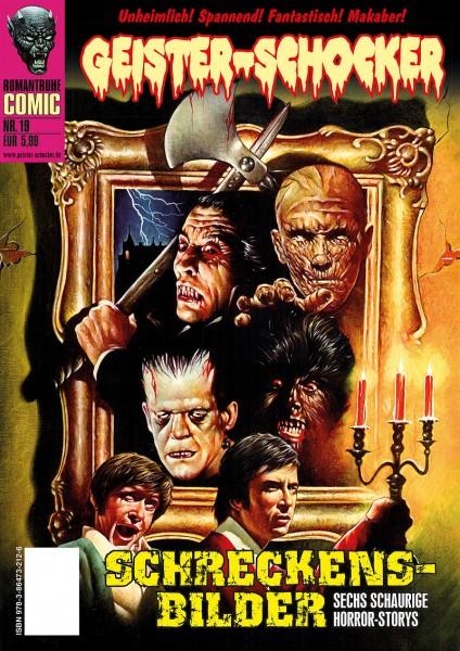 Geister-Schocker-Comic 19: Schreckensbilder