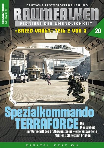 E-Book Raumfalken 20: Spezialkommando TERRAFORCE