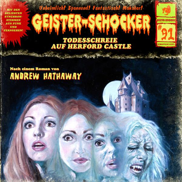 Geister-Schocker CD 91: Todesschreie auf Herford Castle