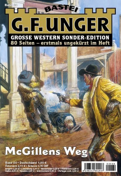 G. F. Unger-Sonder-Edition: Abo - jährliche Zahlung (26 Hefte/Jahr)